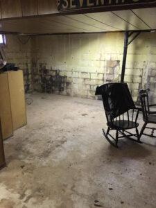 911 Restoration - mold removal- Western Maryland -basement mold